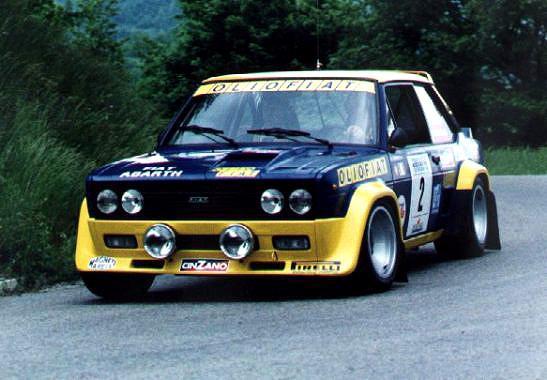 Fiat 131 Abarth Championne du Monde des rallyes