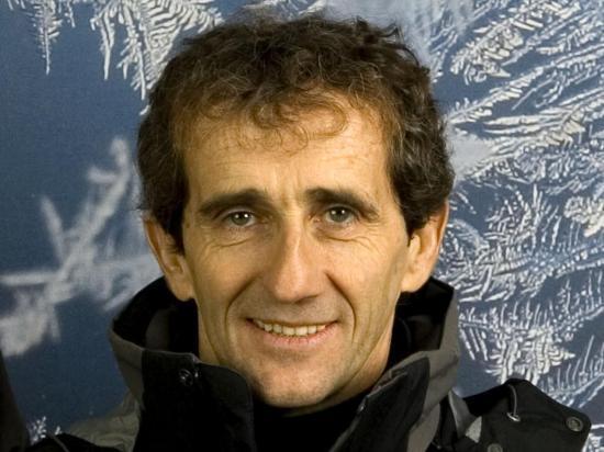 Alain Prost j'ai eu la chance de le rencontrer en vélo dans la montée du col du télégraphe
