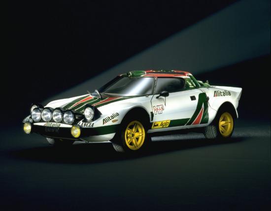 Lancia Stratos Championne du Monde des rallyes