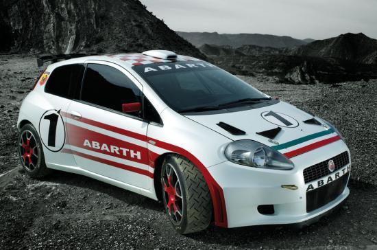 Fiat Punto rallye
