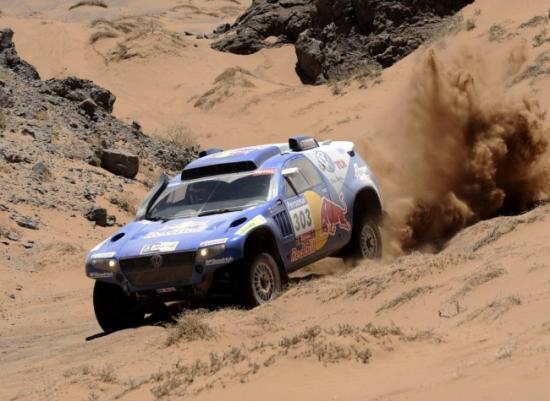 Carlos Sainz Dakar 2010