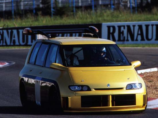 Renault Espace Grand Prix.