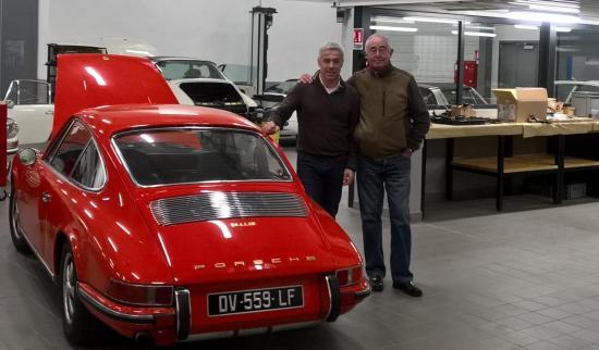 """Avec Raymond Narac """"Porsche Rouen"""" Aujourd'hui"""